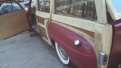 1949 Chrysler Royal white ash wood Must sell !!! very rare 1949  Chrysler Royal Woodie  over $30,000 off