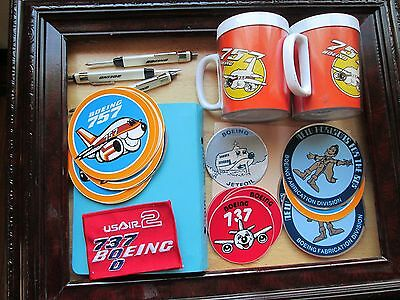 Boeing 707, 757, 737, Patch,Screwdrivers,Books, decals, mugs,