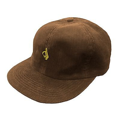 Mark Gonzales Krooked Skateboards 6 Panel Corduroy Cap Hat Supreme Blind