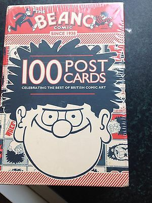 The Beano Comic 100 Postcards In A Box      New