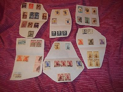 A Small Collection Of Portugeuse India Stamps