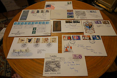 10 First Day Covers