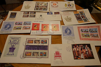 First Day Covers Approximatly 25