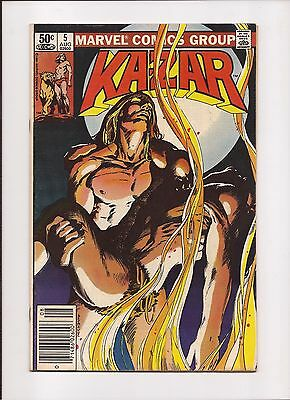 Ka-Zar the Savage #5 - Aug 1981 - Marvel
