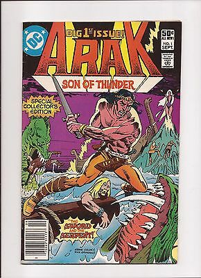 Arak Son of Thunder #1-4,7-13,15,16 - DC - Lot of 13 books!