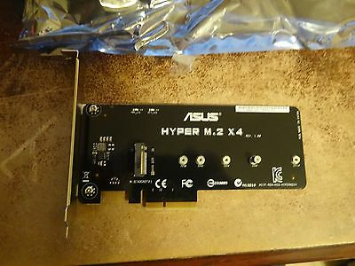Asus Hyper M.2 X4 Accessory For Asus X99 Deluxe Usb3.1 Original One