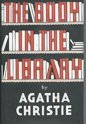 AGATHA CHRISTIE  The Body In The Library (facsimile edition)  HB & D/W