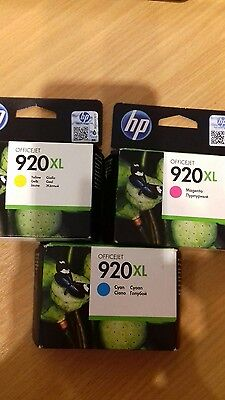 HP 920cl cyan/yellow/magenta genuine