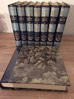 collection 8 vol. la grande guerre 14-18 p.wedelman
