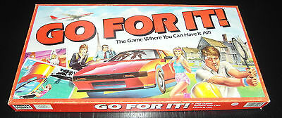 Go For It + Spare Board - Parker Brothers  - 1986