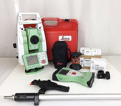 """Leica TS15P 1"""" R1000 Robotic Total Station Package (2010)"""
