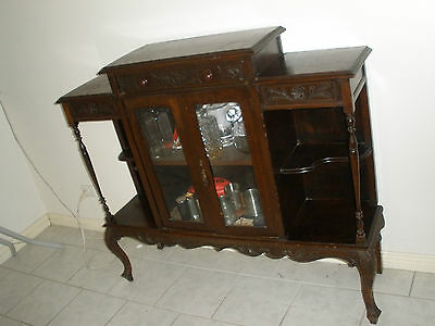 Antique Cabinet - Unusual - Pick Up Vic