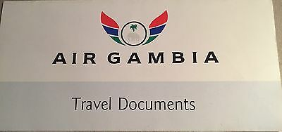 Air GambiaVINTAGE TICKET Document