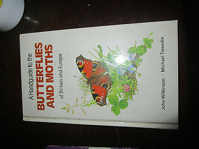 A handguide to the Butterflies and Moths of Britain and Europe-hardback book.