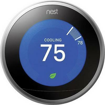 Nest Learning Thermostat 3rd Generation - T3007ES NEW