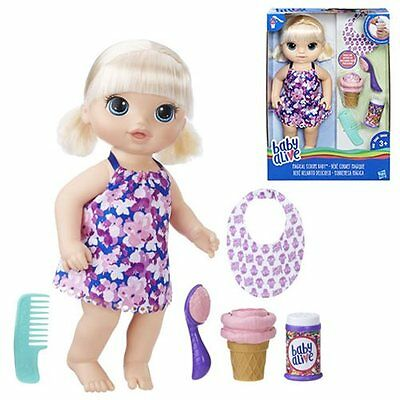 Baby Alive Magical Scoops Baby Doll Blonde - New in stock