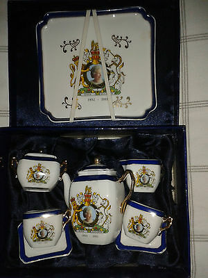 The House Of Valentina Collectable China Queen Elizabeth Jubilee 1952-2002