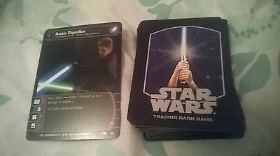 star wars tcg full attack of the clones uncommon set of 60 cards