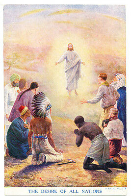Vintage S.P.C.K. postcard The Desire of All Nations. No. 175