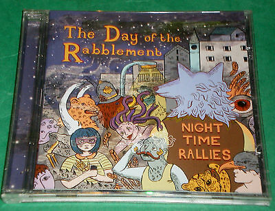 THE DAY OF THE RABBLEMENT: Night Time Rallies - CD 2013