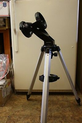 "Meade DS ALTAZ Telescope Mount, Tripod, SLO-MO controls for 4-1/2"" Reflector"