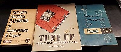 Triumph Tr3 And Other Models To 1965 Owners Handbook Practical Maint & Tune Up