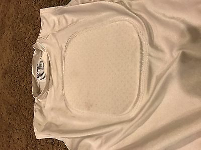 EUC: Youth baseball heart-chest protector by Stromgren athletics, sz L