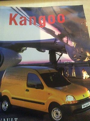RENAULT KANGOO  SALES & PRICE LIST BROCHURES  2000  #RenKa01