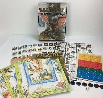 Talisman The Magical Quest Game 2nd Edition - Games Workshop 1985 Unpunched