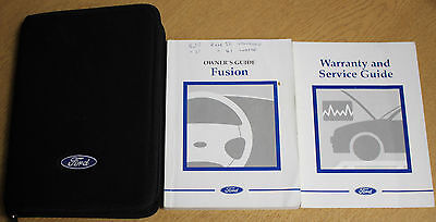Ford Fusion Handbook Owners Manual Wallet 2002-2005 Pack 13045