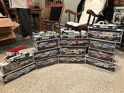 Hess Toy Truck Collection 1991-2006 Collectible Christmas