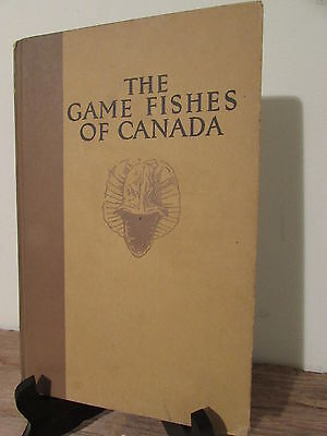 Game Fishes of Canada 1928 by Canadian Pacific Railway Edition