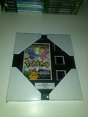 pokemon the first movie film cell display