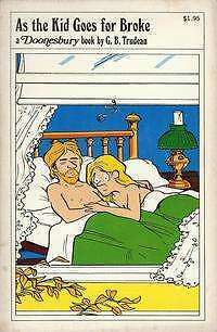 Doonesbury paperback books As the Kid Goes for Broke #1 in Very Fine condition