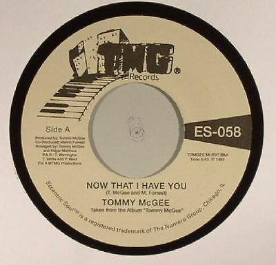 "Tommy Mcgee "" Now That I Have You "" / "" Stay With Me "" 7"" Soul Funk R&b"