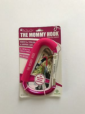 The Mommy Hook, Silver with Pink Pad , New, Free Shipping
