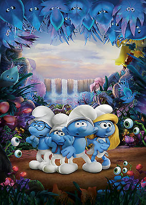 Smurfs The Lost Village (2017) - A1/A2 POSTER **BUY ANY 2 AND GET 1 FREE OFFER**