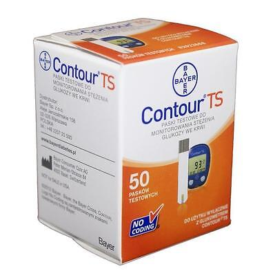 Bayer Contour TS 50 test strips FREE SHIPING