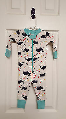 Boys Size 60CM 6-9 Months Hanna Andersson Whale Sleeper