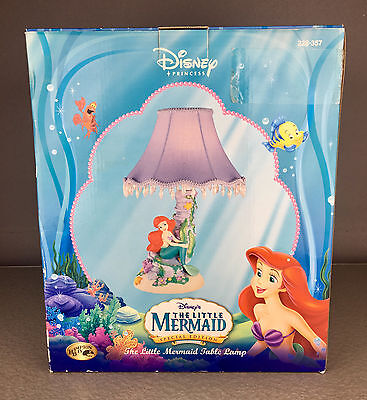NEW IN BOX The Little Mermaid 11304 Dangle TABLE LAMP ARIEL DISNEY RETIRED 2006