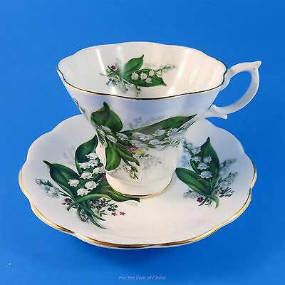 Royal Albert Lily of the Valley Bouquet Tea Cup and Saucer Set