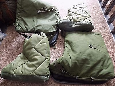 British Army Royal Marine Arctic Thermal Overboots Size Large and Tent Boots