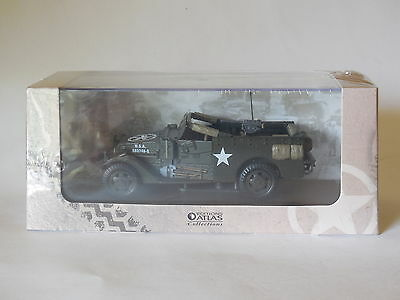 Atlas 1/43  Wwii Us Army M3 Scout Car