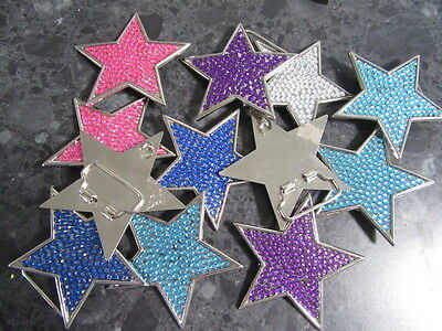 12 Star Belt Buckles
