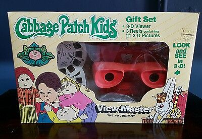 Vintage CABBAGE PATCH 3D VIEWMASTER