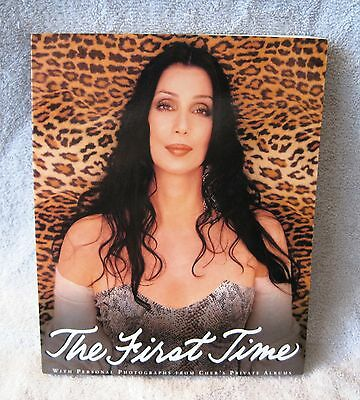 Rare - Cher - The First Time - Softcover Book - Biography - Excellent Gift Item!
