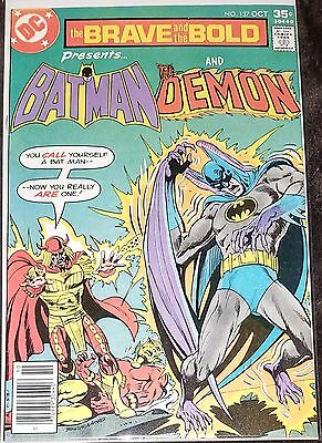 The Brave and the Bold #137 Batman and The Demon