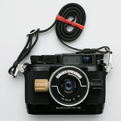 Vintage land and underwater film 35mm camera Nikon Nikonos III