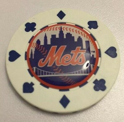 New York Mets Poker CHIP CARD GUARD WSOP, Poker Weight , Card Protector