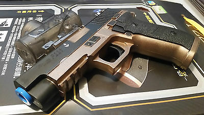 gel water ball bullet gun SIG P226 pistol shooter fast auto action awesome